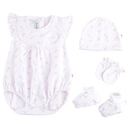 Organik Princess Set- Pembe Bonbon